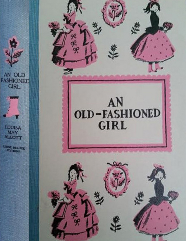 JDE An Old Fashioned Girl FULL cover