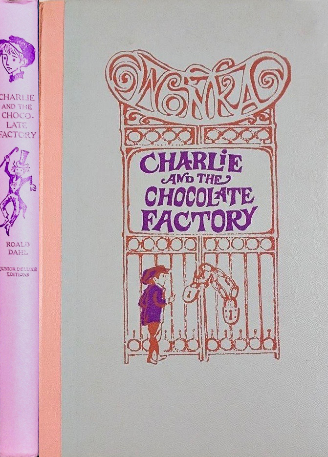 JDE Charlie and the Chocolate Factory FULL cover