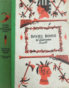 JDE Daniel Boone green cloth FULL cover