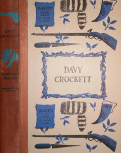 JDE Davy Crockett Red Cloth FULL cover