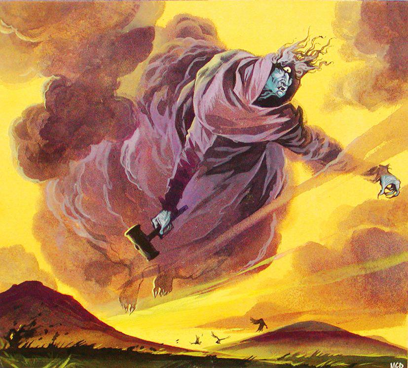 Angus McBride Beasts Cailleach Bheaur illus