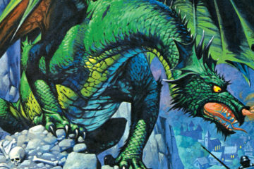 Angus McBride Beasts Dragons cropped