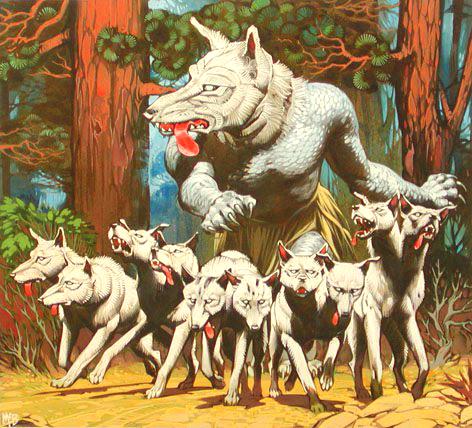 Angus McBride Beasts Maero illus