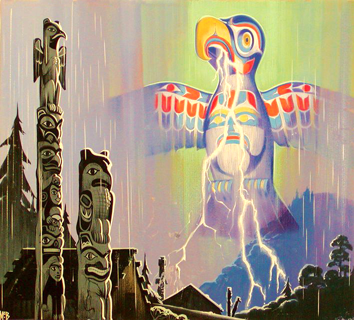 Angus McBride Beasts Thunderbird illus