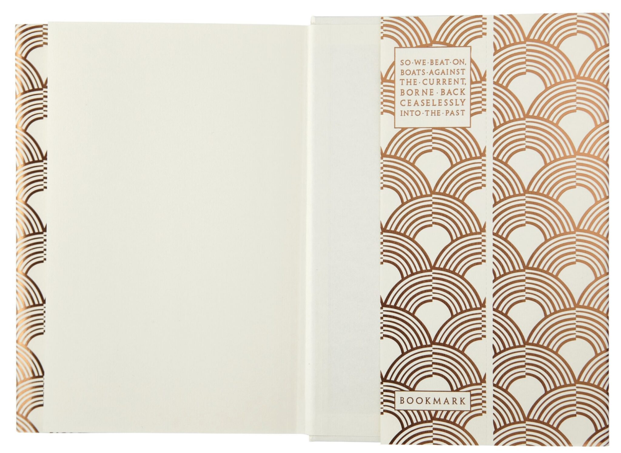 F Scott Fizgerald Foiled Great Gatsby dust jacket