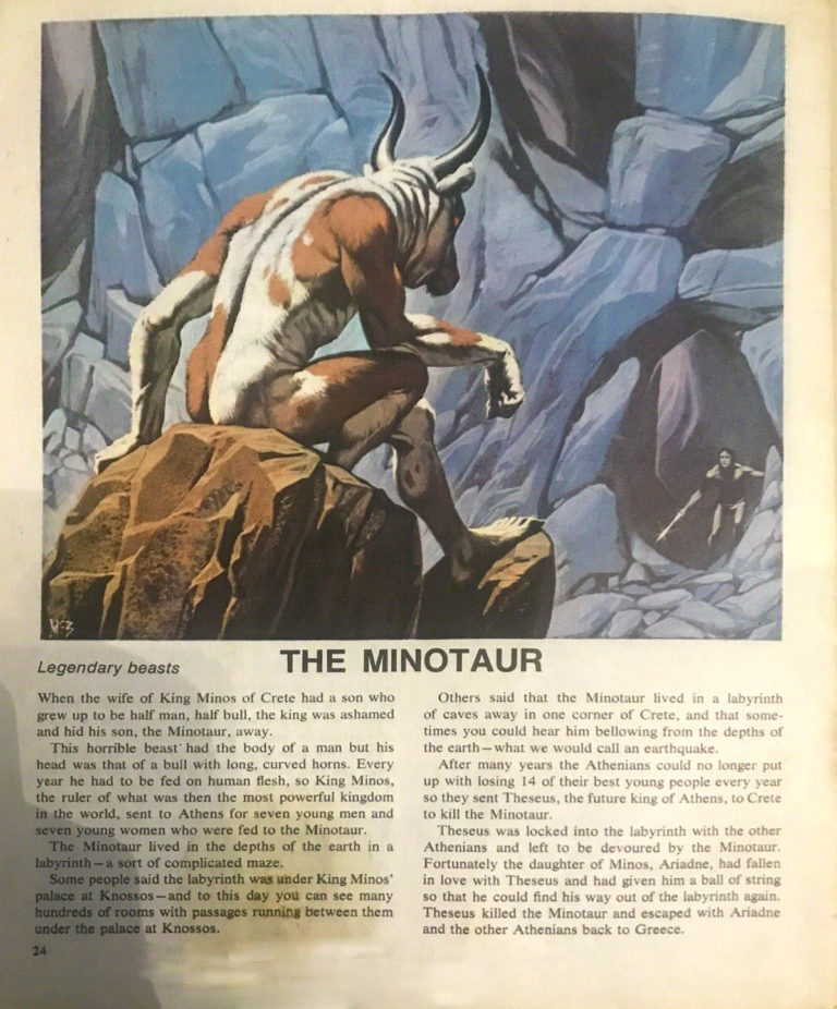 Finding Out 18 3 McBride Beasts Minotaur crop