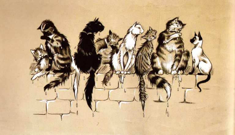 GJT cats sketch