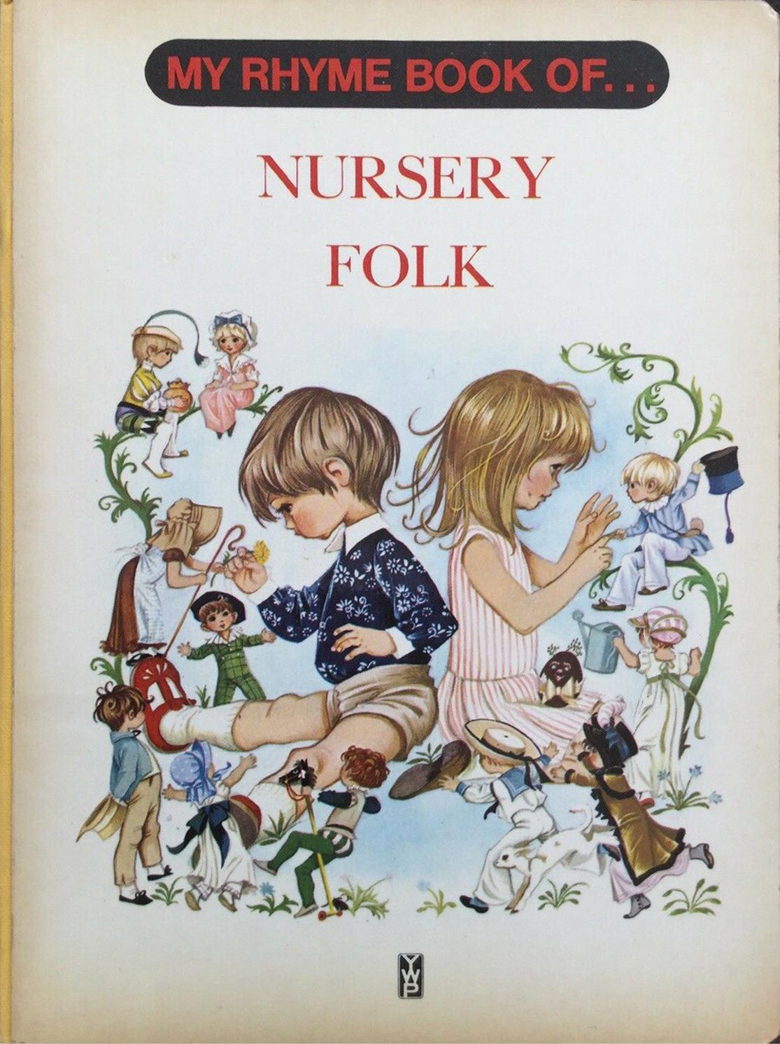 Grahame Johnstone My Rhyme Book of Nursery Folk
