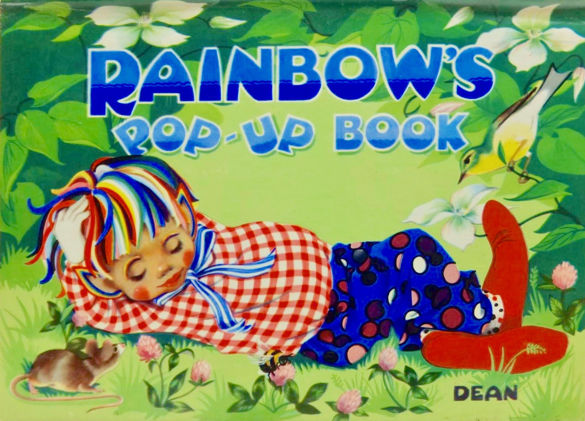 Grahame Johnstone Rainbows Pop up Book