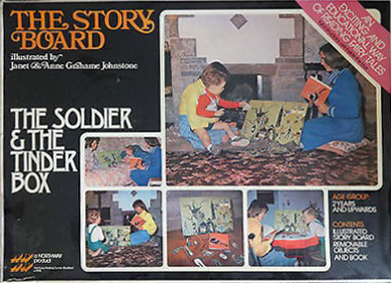 Grahame Johnstone Story Board Soldier Tinder Box