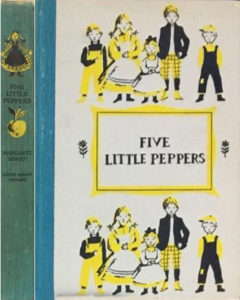 JDE Five Little Peppers FULL blue cover