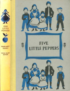 JDE Five Little Peppers FULL yellow cover