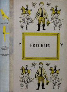 JDE Freckles blue spine FULL cover