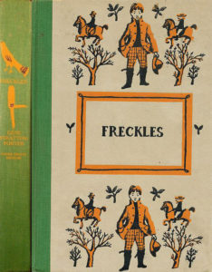 JDE Freckles green spine FULL cover
