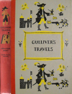 JDE Gullivers Travels FULL red cover