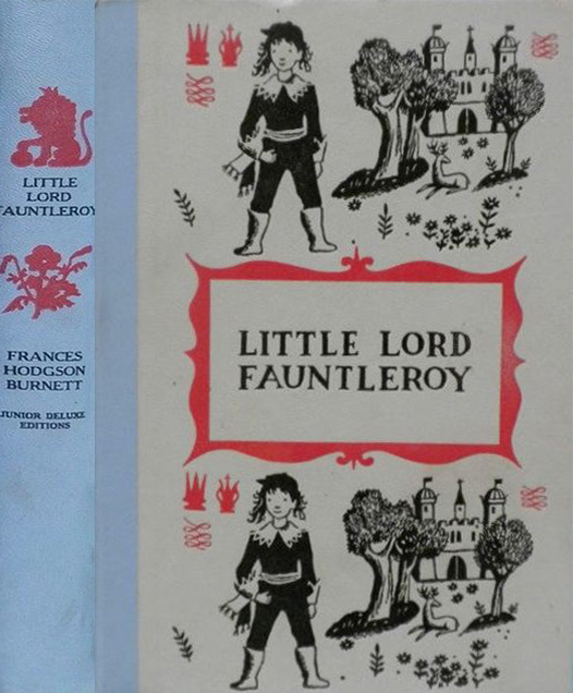 JDE Little Lord Fauntleroy FULL blue cover