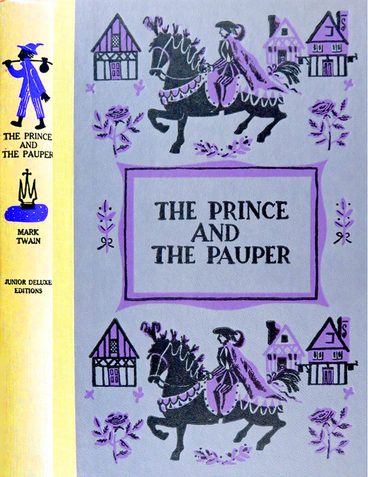 JDE Prince and the Pauper FULL fixed purple cover