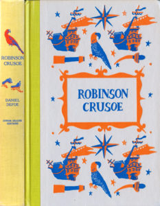 JDE Robinson Crusoe FULL yellow cover