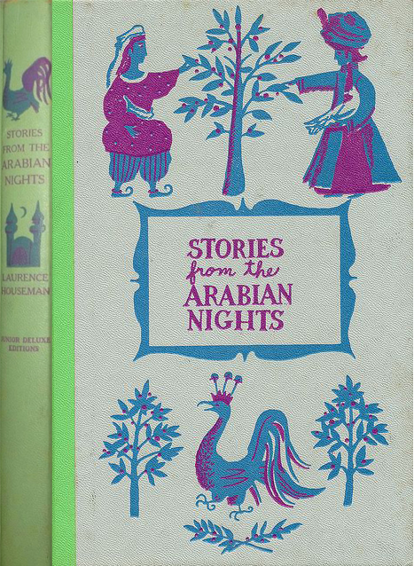 JDE Stories from the Arabian Nights FULL green cover