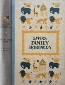 JDE Swiss Family Robinson FULL old blue cover