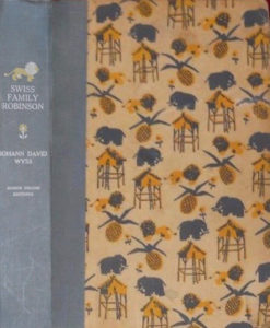 JDE Swiss Family Robinson FULL old patterned cover