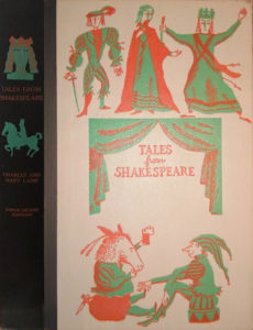 JDE Tales from Shakespeare FULL black cover