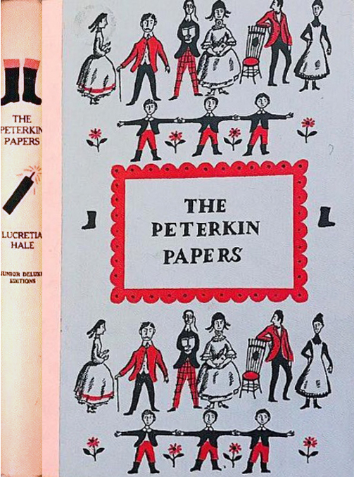JDE The Peterkin Papers FULL pink cover