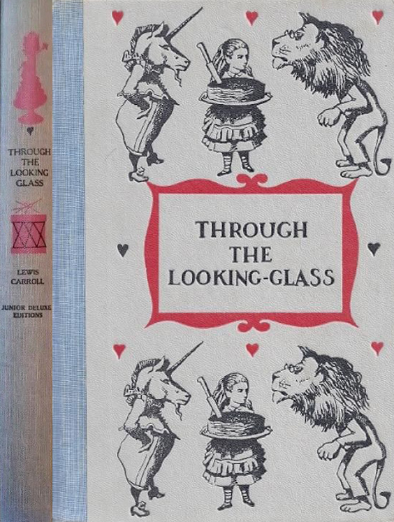 JDE Through the Looking glass FULL blue cover