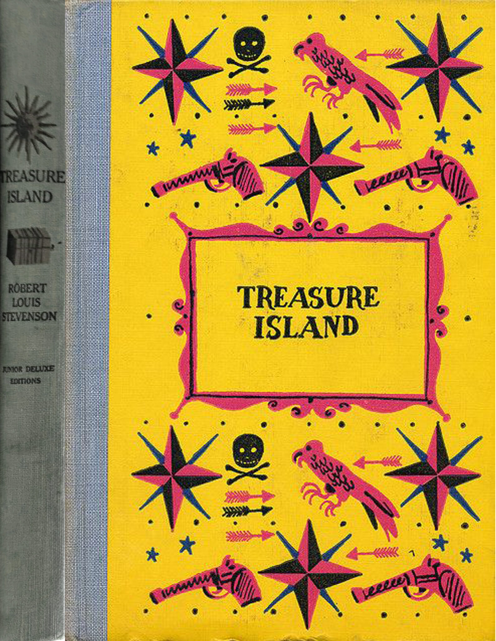 JDE Treasure Island FULL yellow old cover