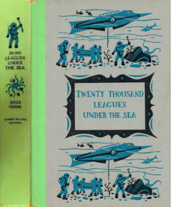JDE Twenty Thousand Leagues Jules Verne FULL Cover Green