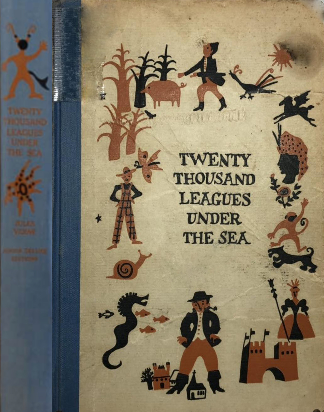 JDE Twenty Thousand Leagues Under The Sea OLD Wiese FULL cover