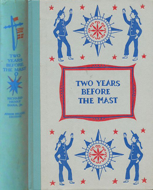 JDE Two Years Before the Mast FULL pale blue cover