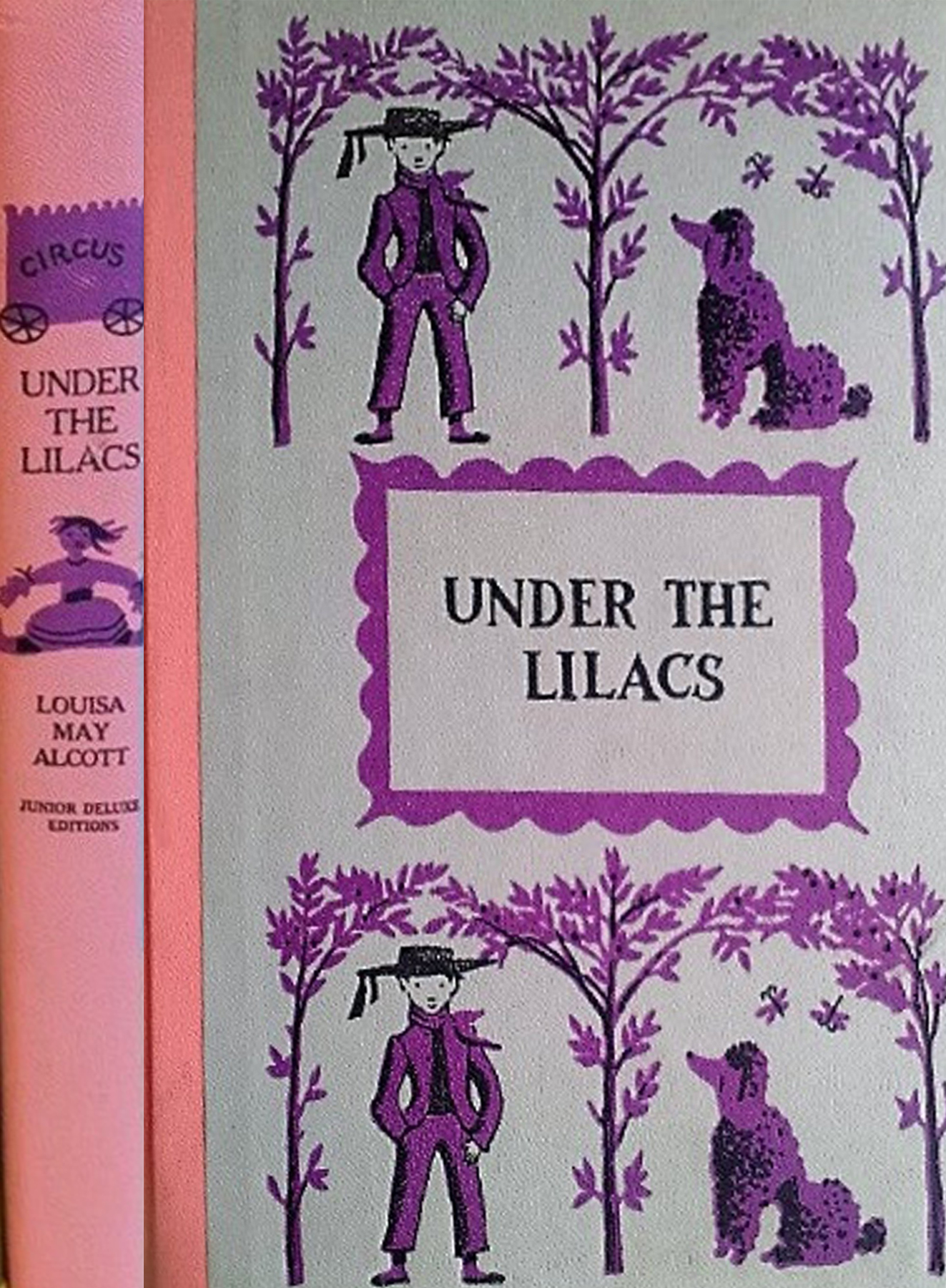 JDE Under the Lilacs purple FULL cover