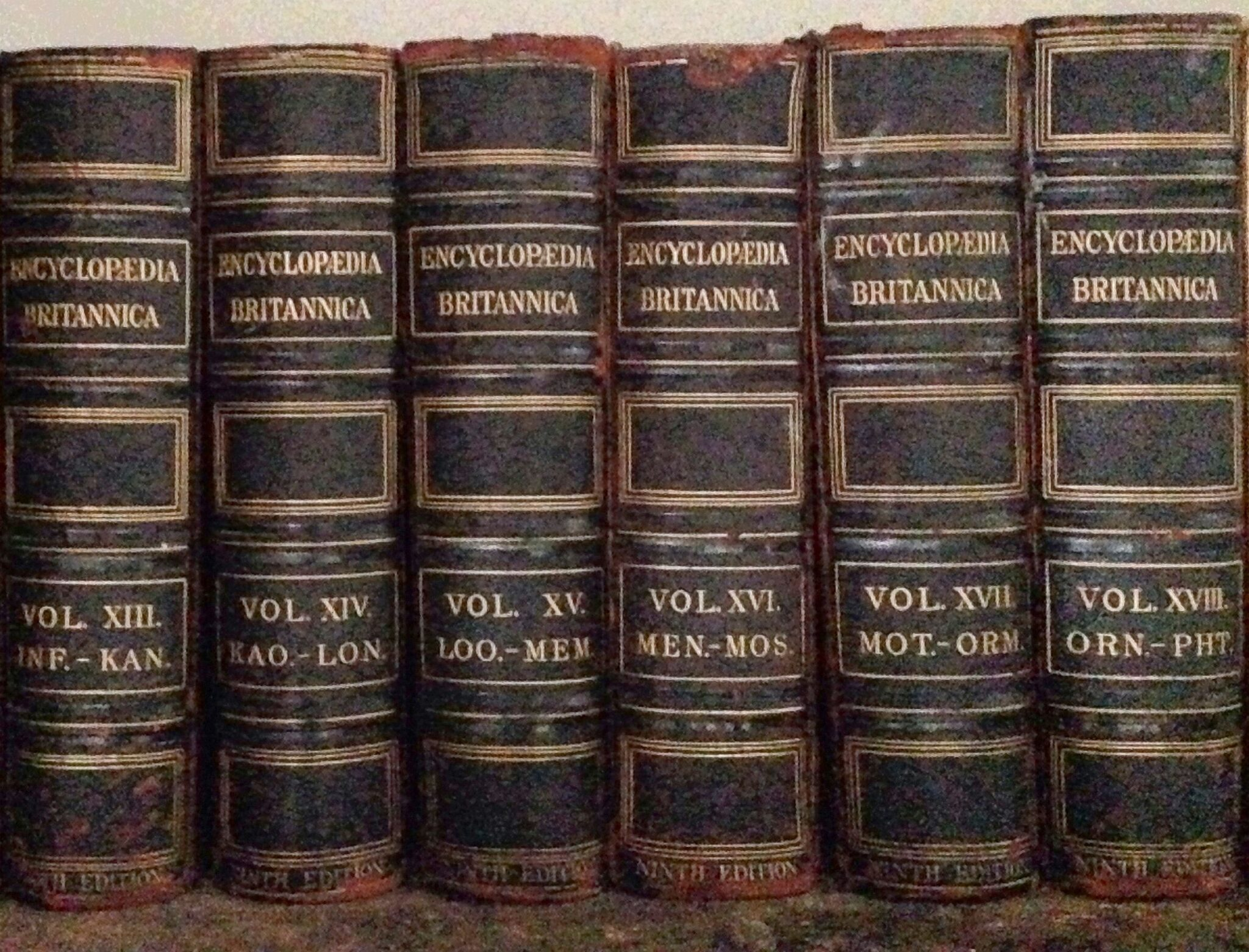faq old encyclopedias