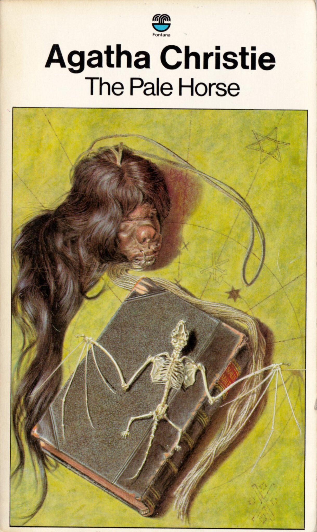 Agatha Christie Ian Robinson The Pale Horse 2 Fontana 1974