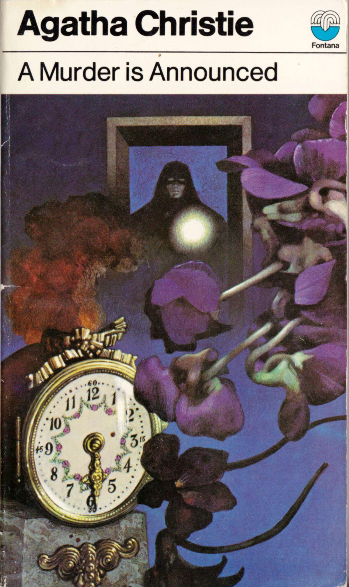 Agatha Christie Tom Adams A Murder Is Announced Fontana 1974