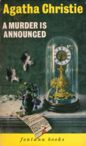Agatha Christie Tom Adams A Murder is Announced Fontana 1963