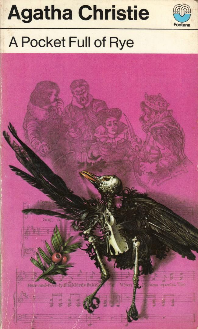 Agatha Christie Tom Adams A Pocket Full of Rye Fontana