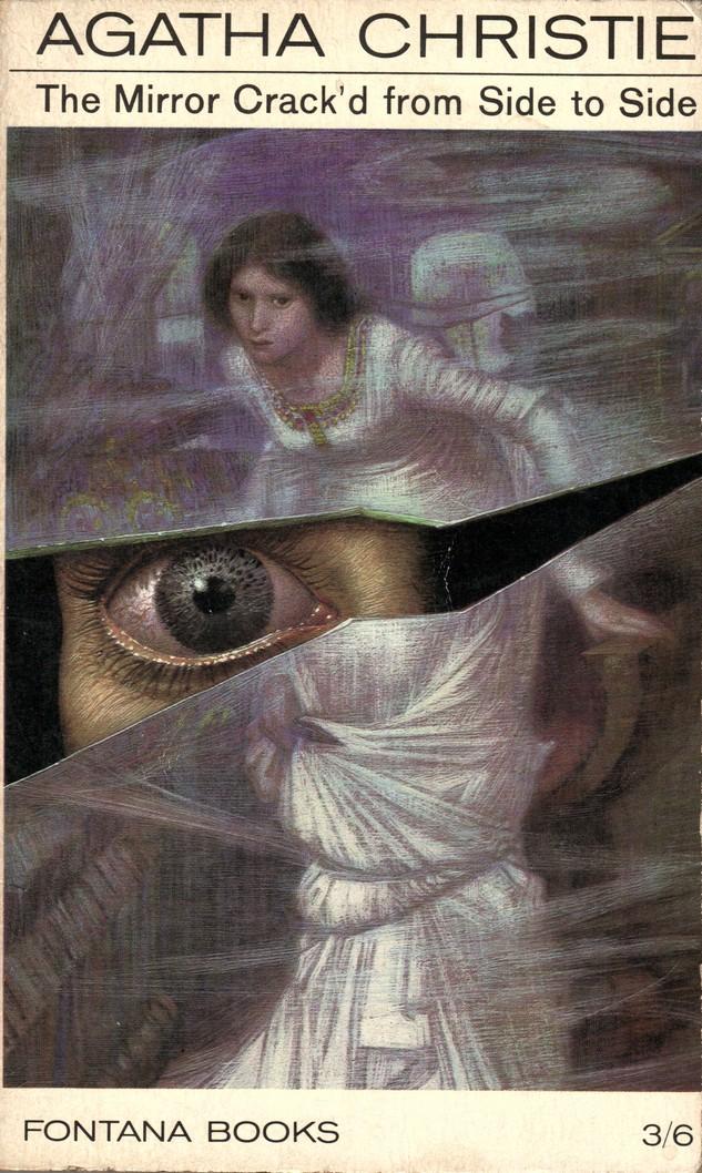 Agatha Christie Tom Adams The Mirror Crackd Fontana 1968
