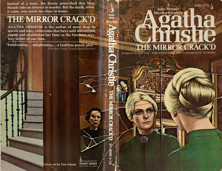Agatha Christie Tom Adams The Mirror Crackd Pocket edit