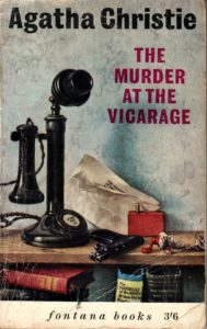 Agatha Christie Tom Adams The Murder at the Vicarage Fontana
