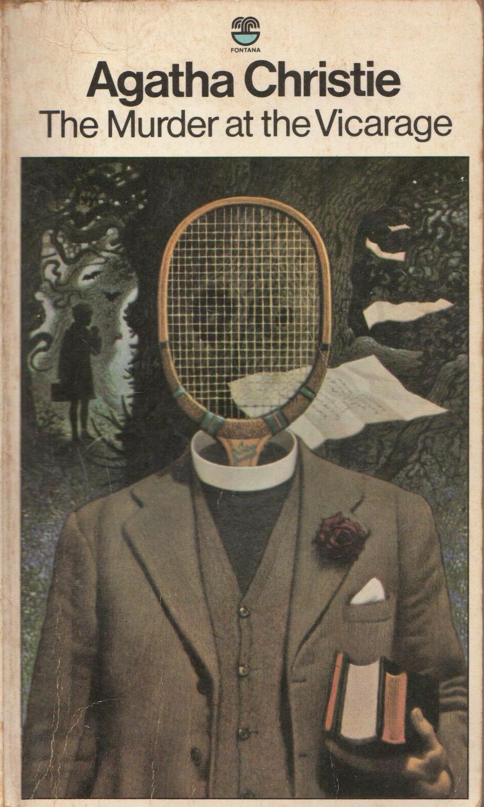 Agatha Christie Tom Adams The Murder at the Vicarage Fontana 1977