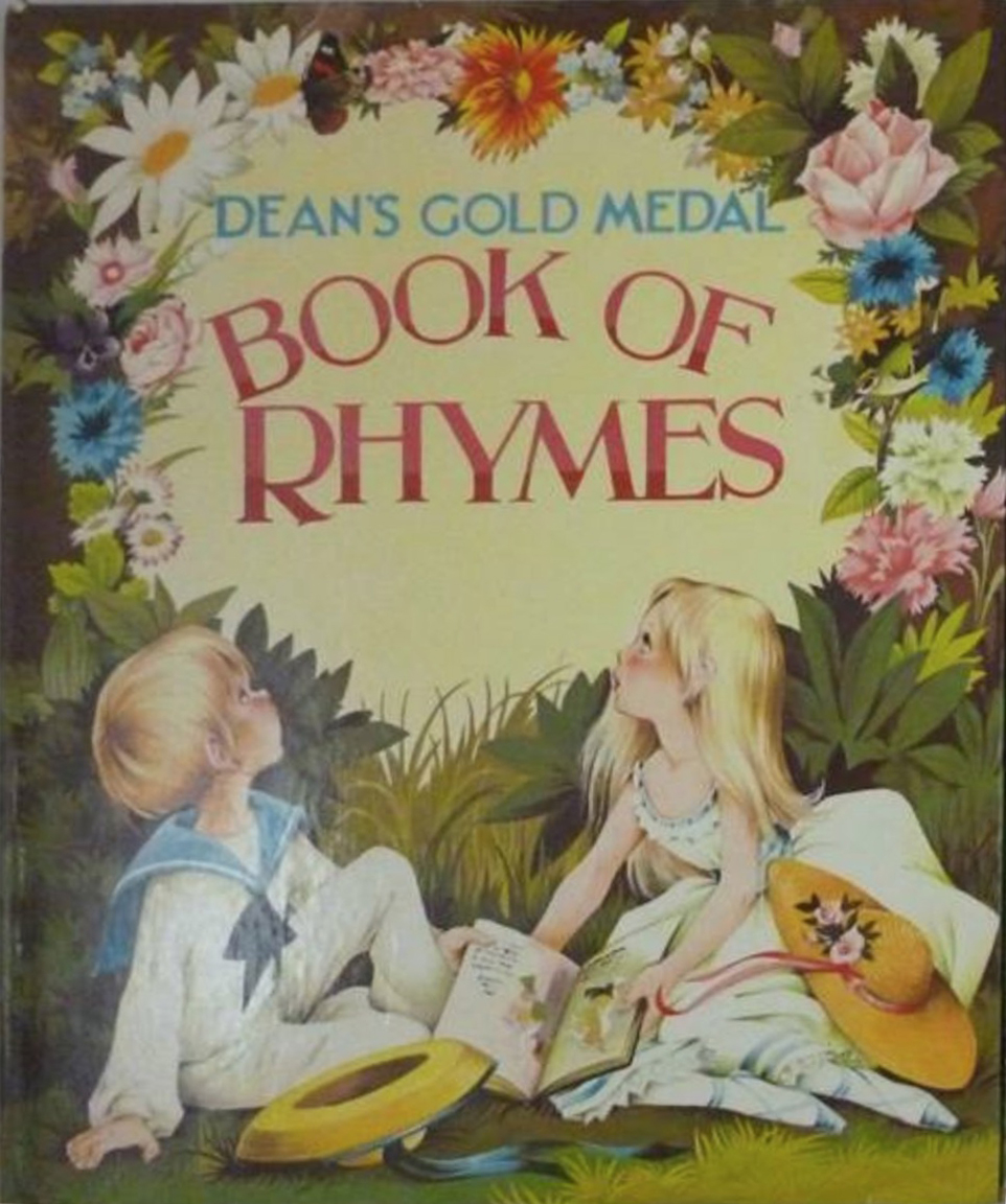 Janet Anne Grahame Johnstone Dean Gold Medal Nursery Rhymes 1 1975