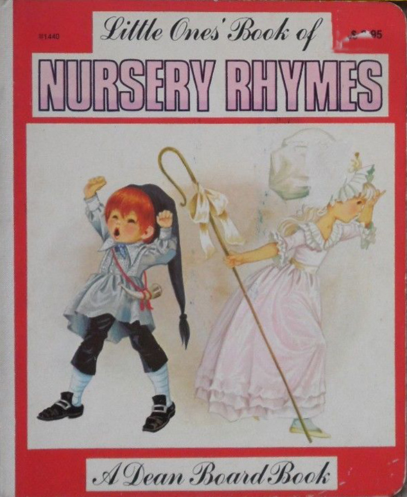 Janet Anne Grahame Johnstone Little Ones Book Of Nursery Rhymes red