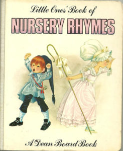 Janet Anne Grahame Johnstone Little Ones Book Of Nursery Rhymes white