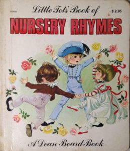 Janet Anne Grahame Johnstone Little Tots Book Of Nursery Rhymes white
