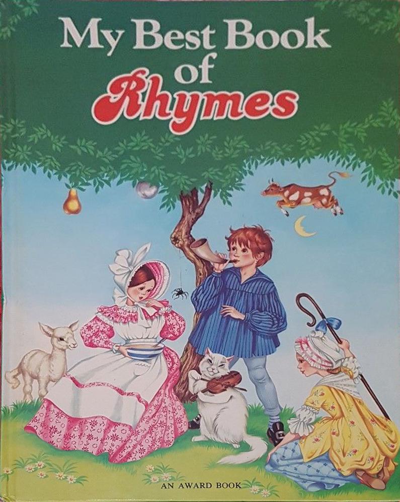 Janet Anne Grahame Johnstone My Best Book of Nursery Rhymes 1981
