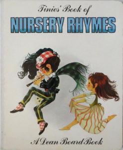 Janet Anne Grahame Johnstone Tinies Book Of Nursery Rhymes white
