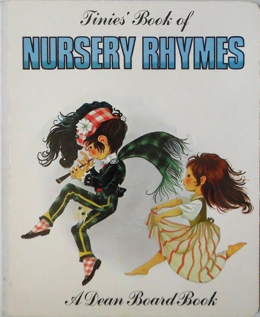 Janet Anne Grahame Johnstone Tinies Book Of Nursery Rhymes white