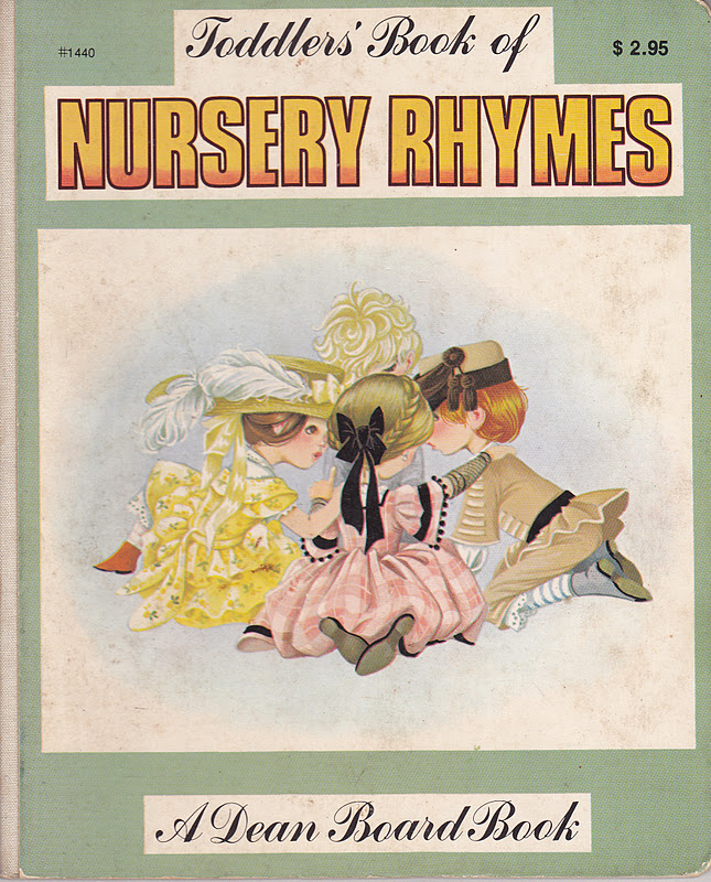 Janet Anne Grahame Johnstone Toddlers Book Of Nursery Rhymes green